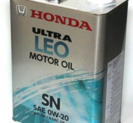 моторное масло Honda 0w20