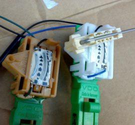 Контактная группа датчика уровня топлива в бензобаке