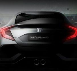Civic Hatchback 10 поколения