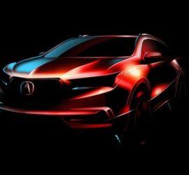 Acura MDX 2017 Teaser