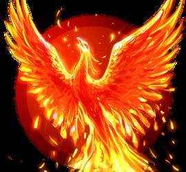 Феникс, птица, возрождающаяся из пепла