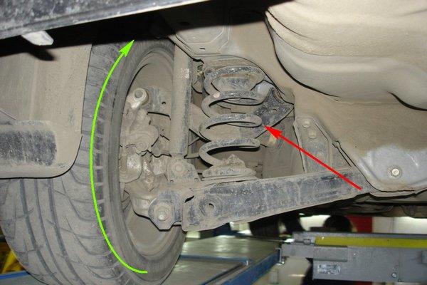Проверка заднего ступичного подшипника Honda